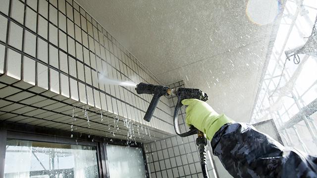 外壁洗浄の種類とは?